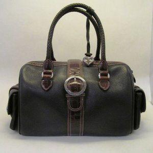 Brighton Leather Magnetic Closure Shoulder Bag